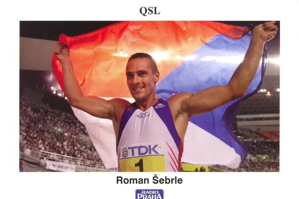 Roman Šebrle  (1974) Decatlonista. Medalla de oro en las Olimpíadas de Atenas en 2004 y campeón del mundo en Osaka en 2007 Foto: ČTK