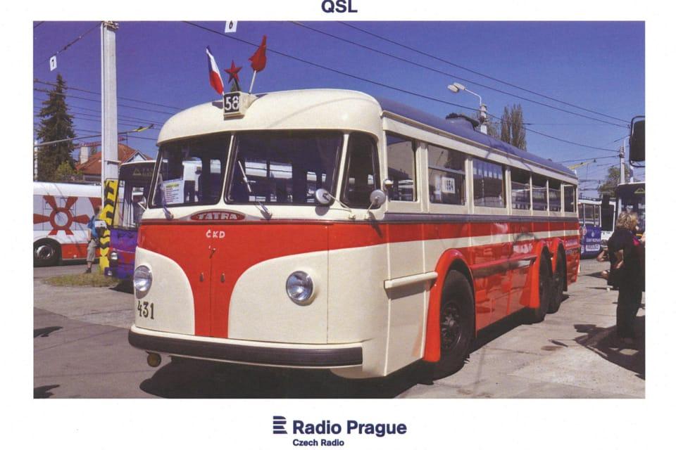 Trolebús Tatra T-400,  foto: Rostislav Kalousek,  ČTK
