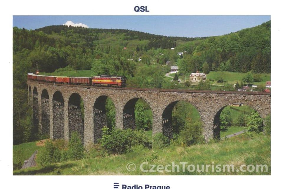Viaducto ferroviario en el valle de Kryštof,  Bohemia del Norte,  foto: CzechTourism