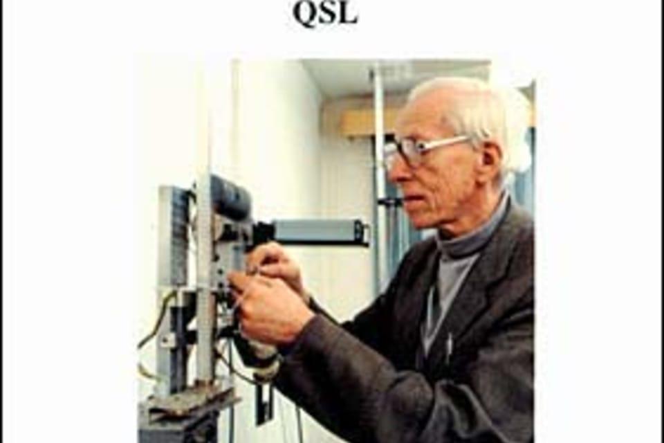 Otto Wichterle,  químico,  descubridor del hidrogel Foto: Museo Nacional Técnico