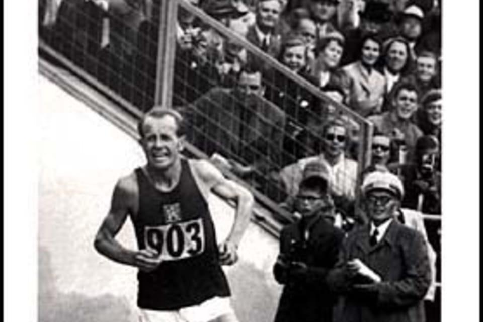 Emil Zátopek  (1926-2000) Atleta. Ganador olímpico en cuatro categorías. Batió varios récords mundiales. Foto: ČTK